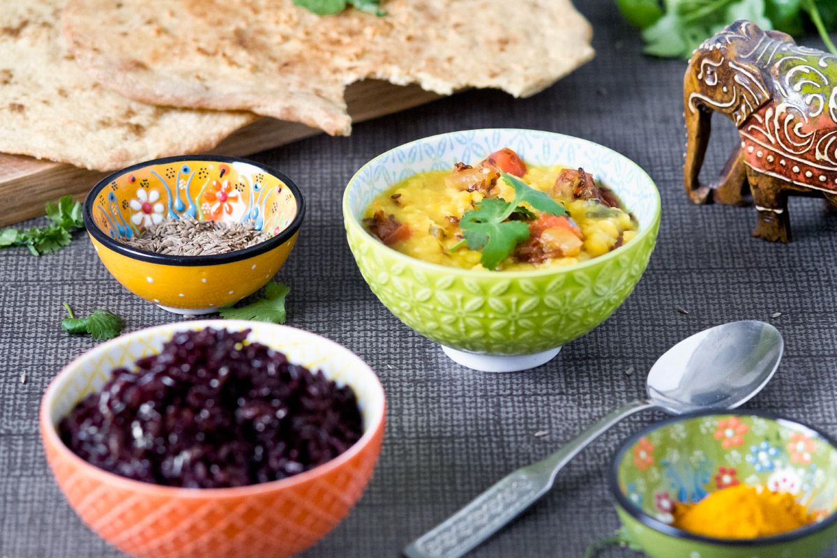 Easy chana dal tadka | www.planticize.com