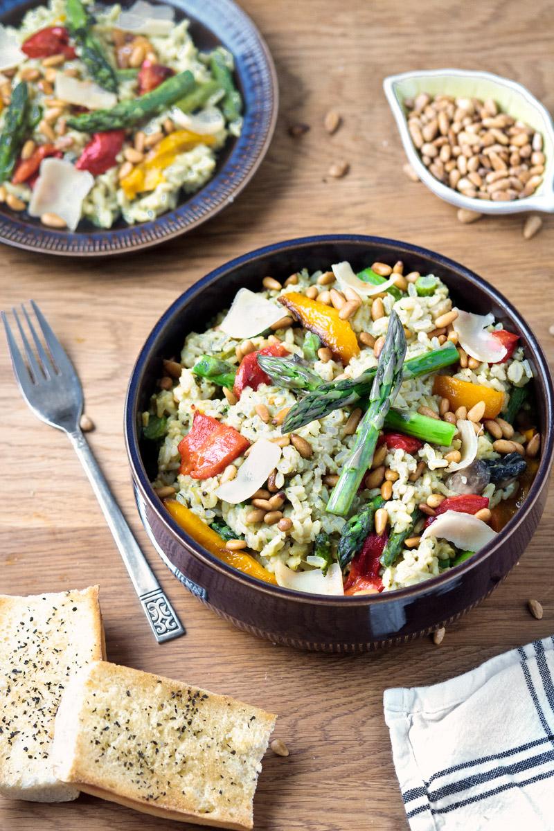 Asparagus risotto | www.planticize.com
