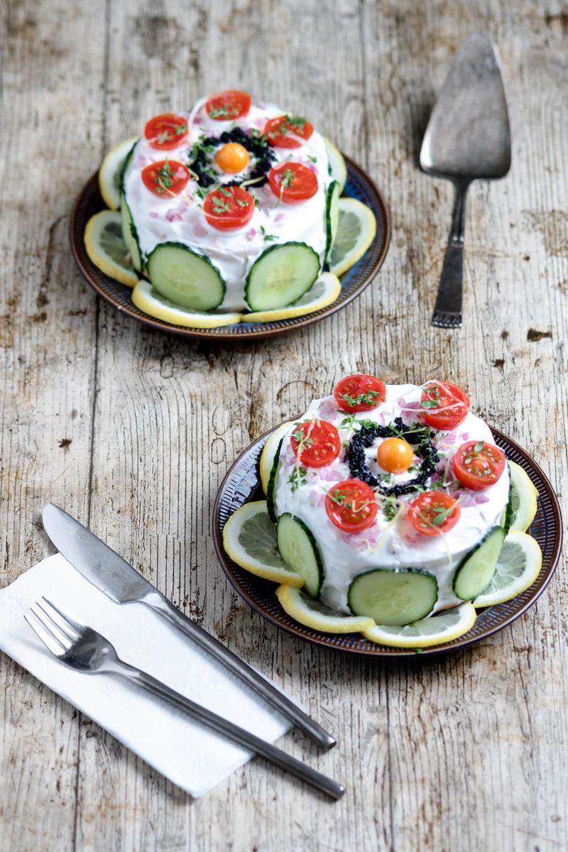 Swedish Sandwich Cake | www.planticize.com