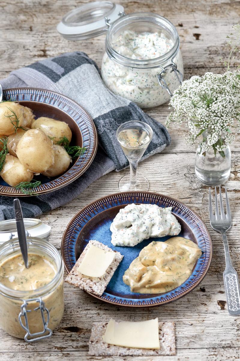 Vegan Mustard and Archipelago Eggplant 'herring' | www.planticize.com