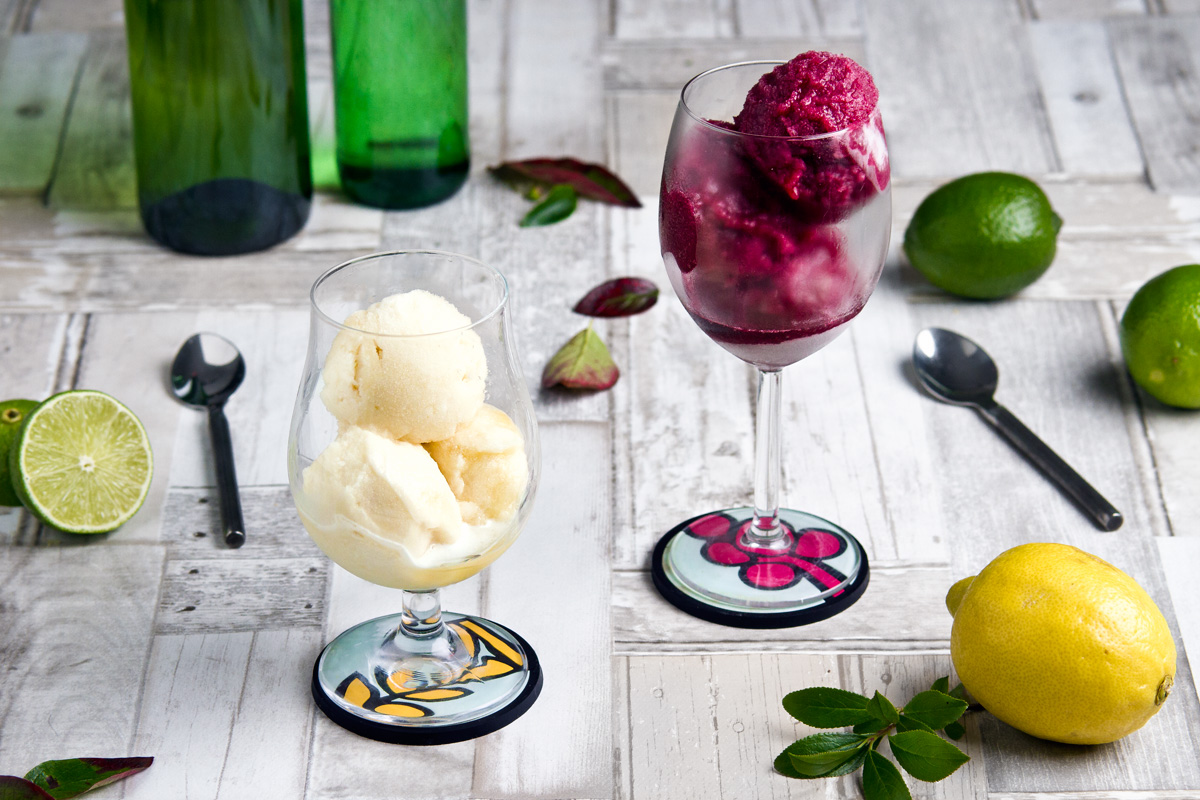 Vegan-friendly beer and wine sorbet | www.planticize.com