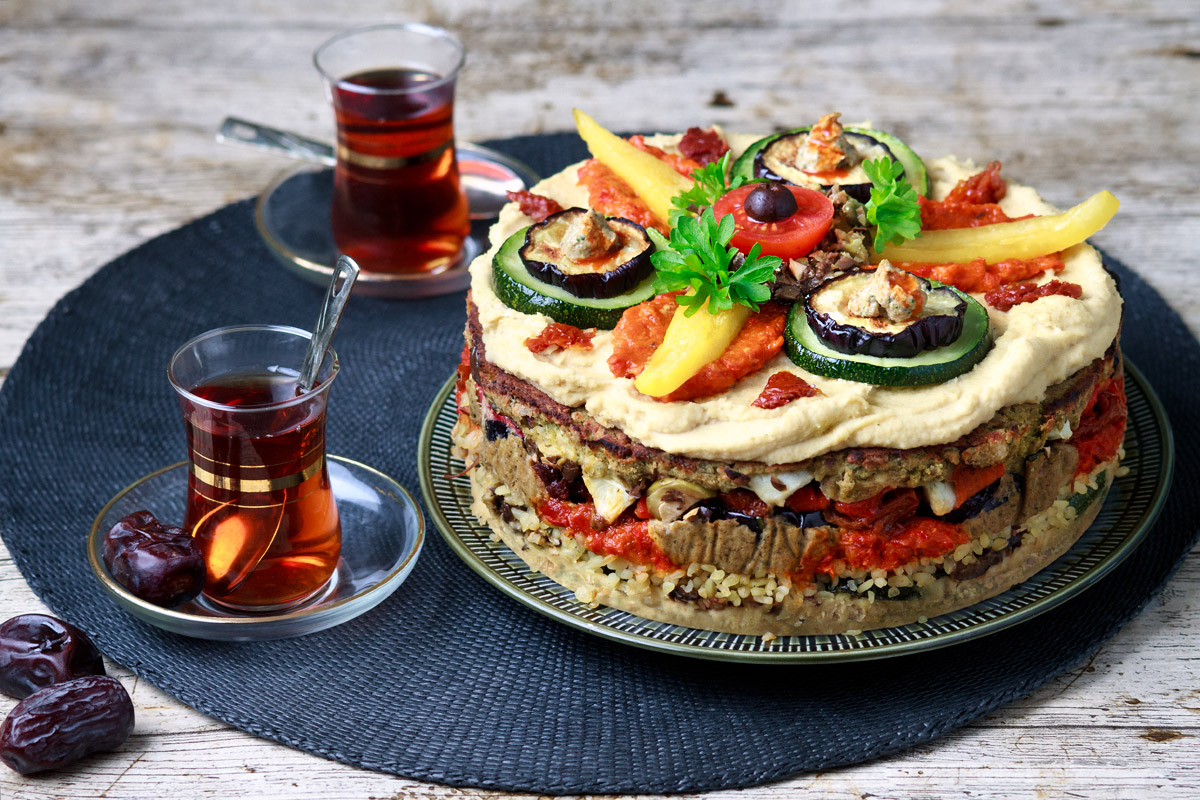 Meze Layer Cake | www.planticize.com