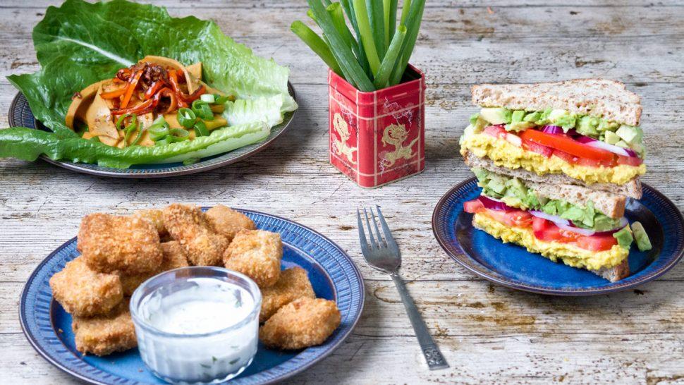 Burmese tofu 3 ways | www.planticize.com
