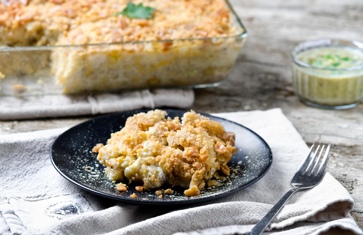 Cheezy Potato Casserole | www.planticize.com